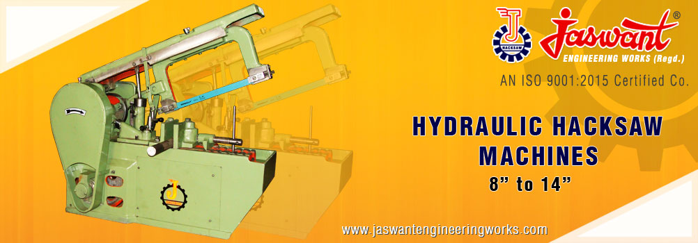 Hydraulic Hacksaw Machine Power Hacksaw Machinery Ludhiana Punjab India